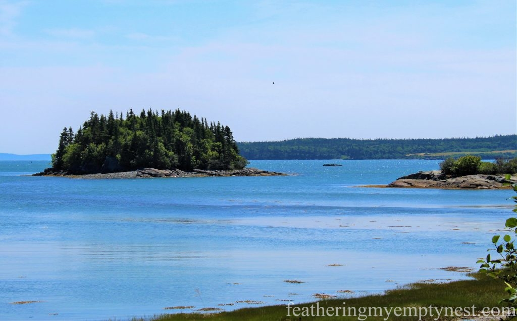 View from Cranberry Point --FDR Slept Here: A Tour of Campobello Island
