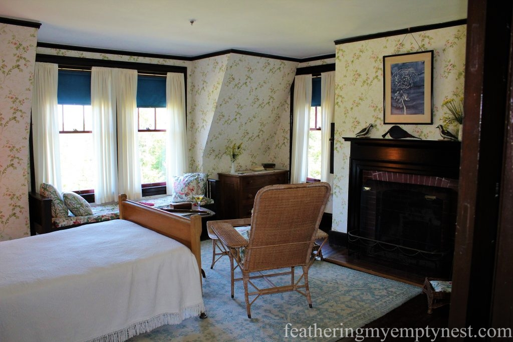 FDR's Bedrin the Roosevelt Cottage --FDR Slept Here: A Tour of Campobello Island
