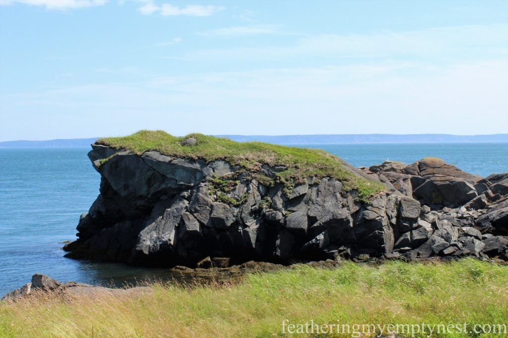 Sugar Loaf Rock --FDR Slept Here: A Tour of Campobello Island