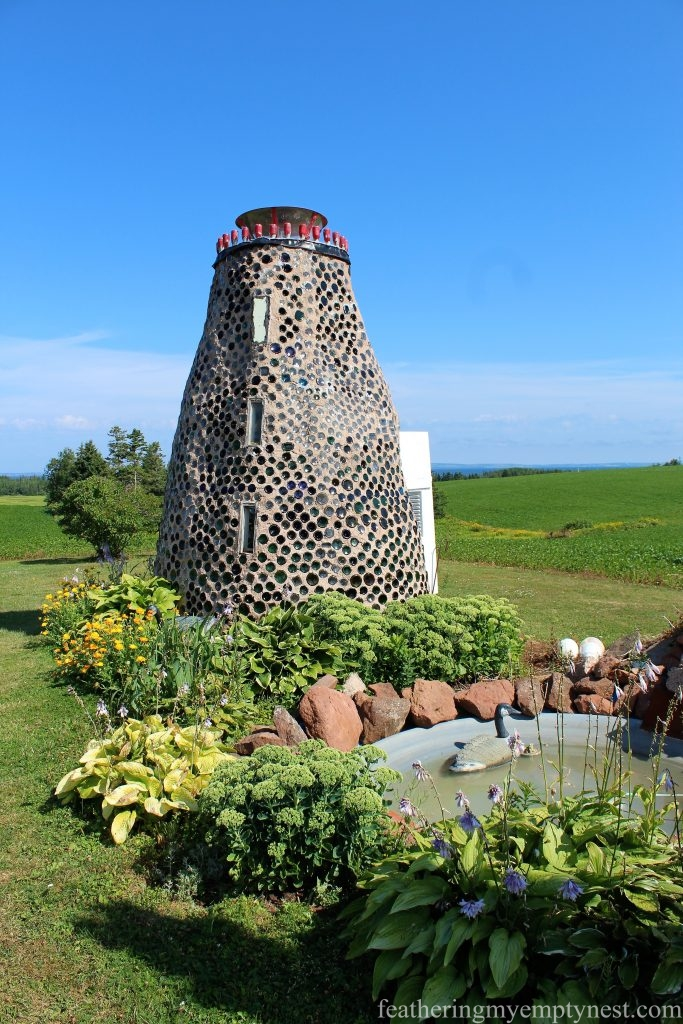 Glass bottle lighthouse --What To See On Prince Edward Island --Green Gables Plus A Whole Green Island