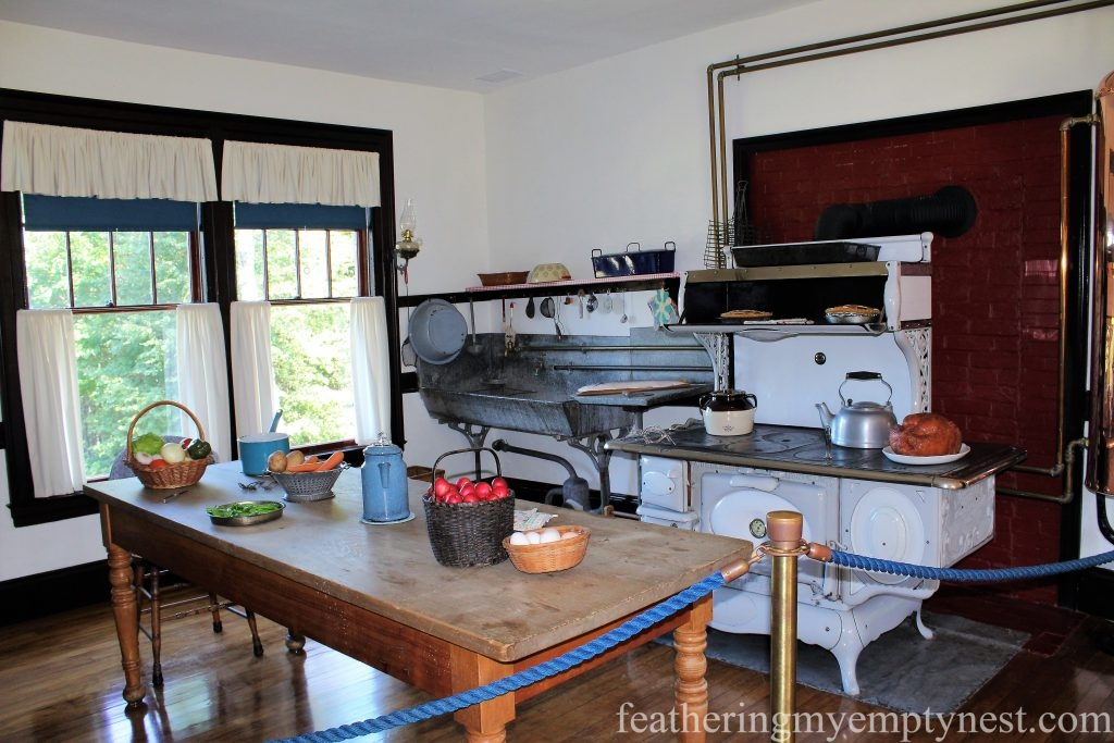 Kitchen in the Roosevelt Cottage --FDR Slept Here: A Tour of Campobello Island