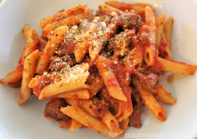 Sausage Penne -- A Family Favorite Weeknight Pasta Recipe