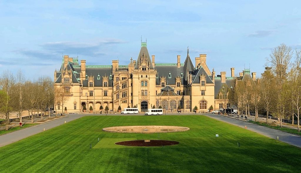 Biltmore Estate Mansion in Asheville, NC --A Spring Tour Of The Biltmore Estate Gardens