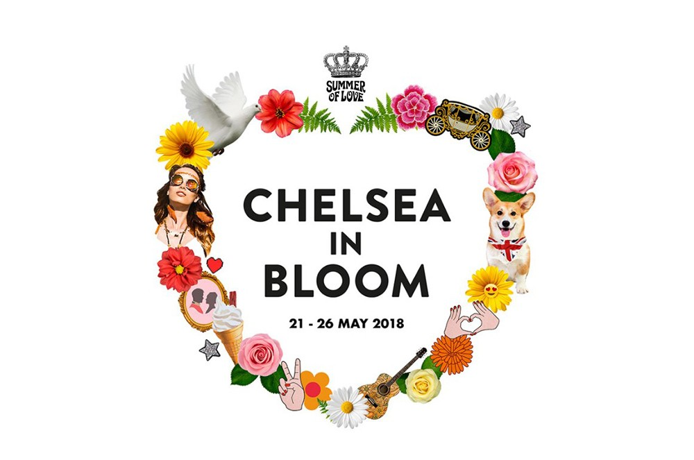 Chelsea In Bloom -Summer Of Love --2018 Chelsea In Bloom: Chelsea Flower Show Part 1