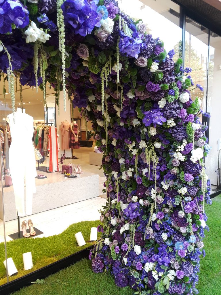 Purples floral arch --Chelsea In Bloom: 2018 Chelsea Flower Show Part 1