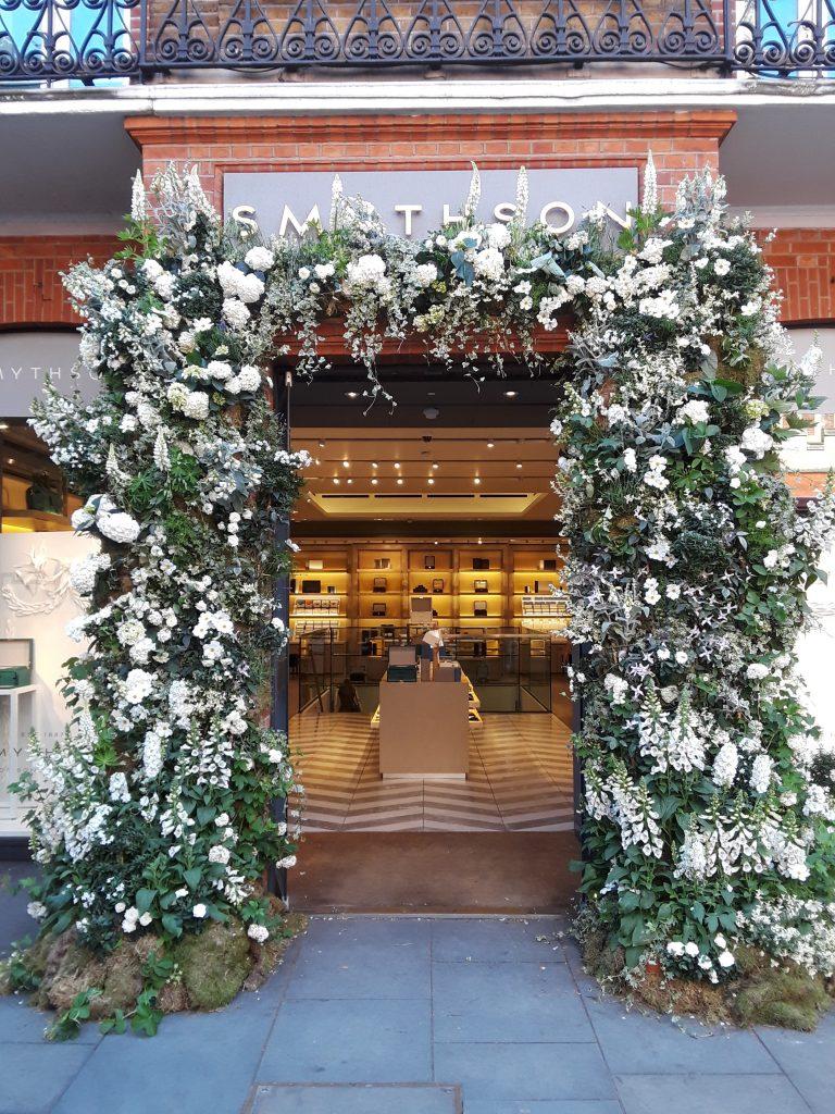 White wedding flower bower --Chelsea In Bloom: 2018 Chelsea Flower Show Part 1