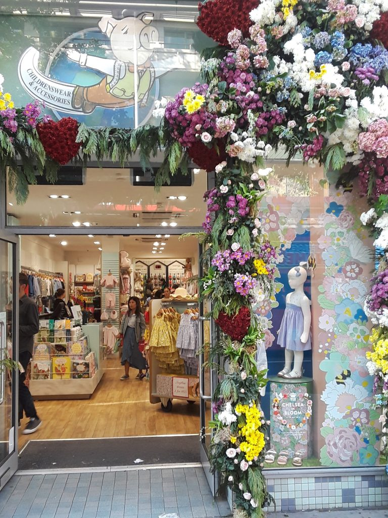 Trotters' lively floral display --Chelsea In Bloom: 2018 Chelsea Flower Show Part 1