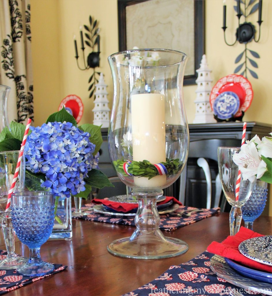 Indoor 4th Of July Table --Ideas For A Rainy 4th Of July