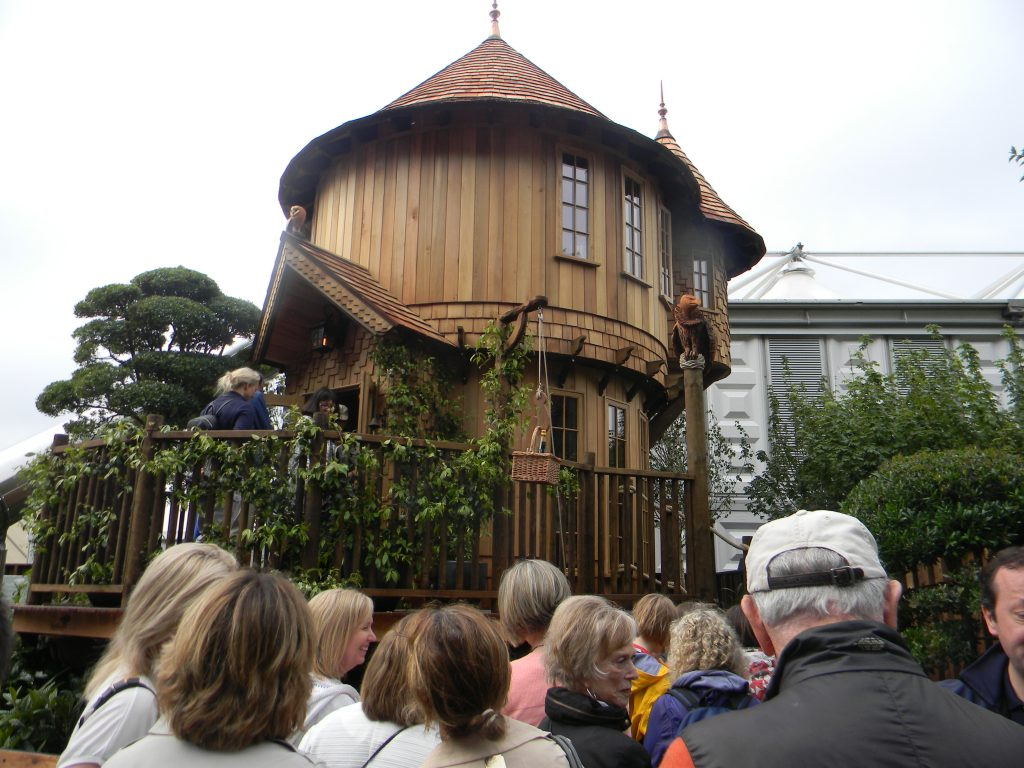 Fairy tale treehouse --Why The Chelsea Flower Show Should Be On Your Bucket List