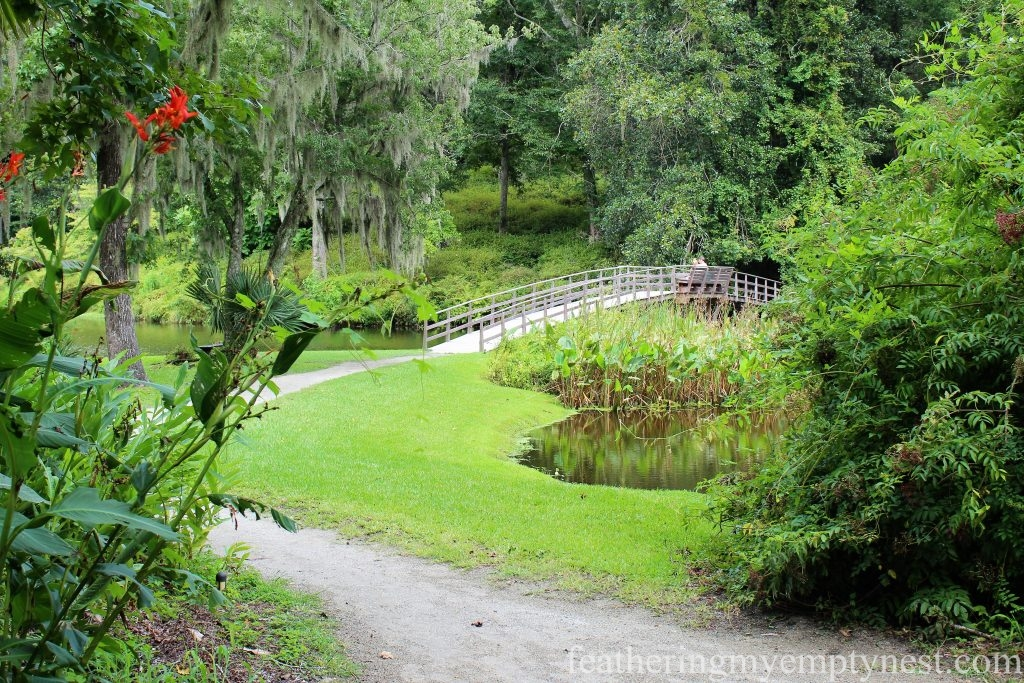 The Mill Pond Bridge --Exploring The Enchanting Gardens Of Middleton Place