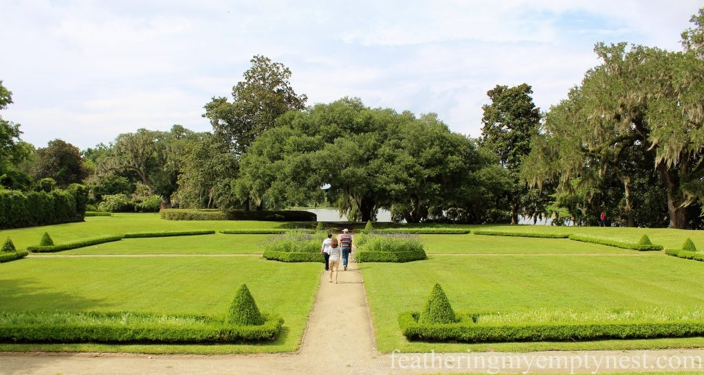 Octagonal Garden --Exploring The Enchanting Gardens Of Middleton Place