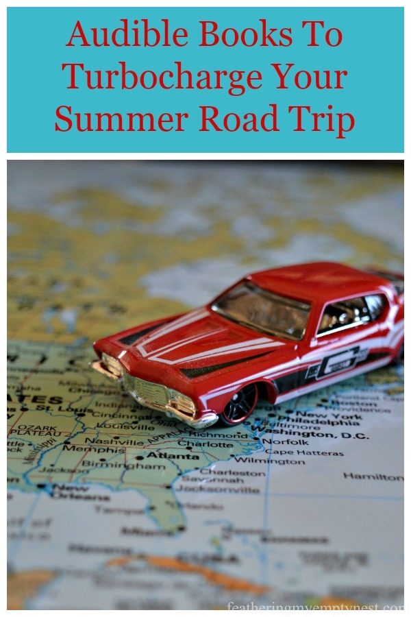 How Audible can make your summer road trip a smooth ride with audiobooks everyone will enjoy. #audiobooks, #summer reading, #travel tips, #audible