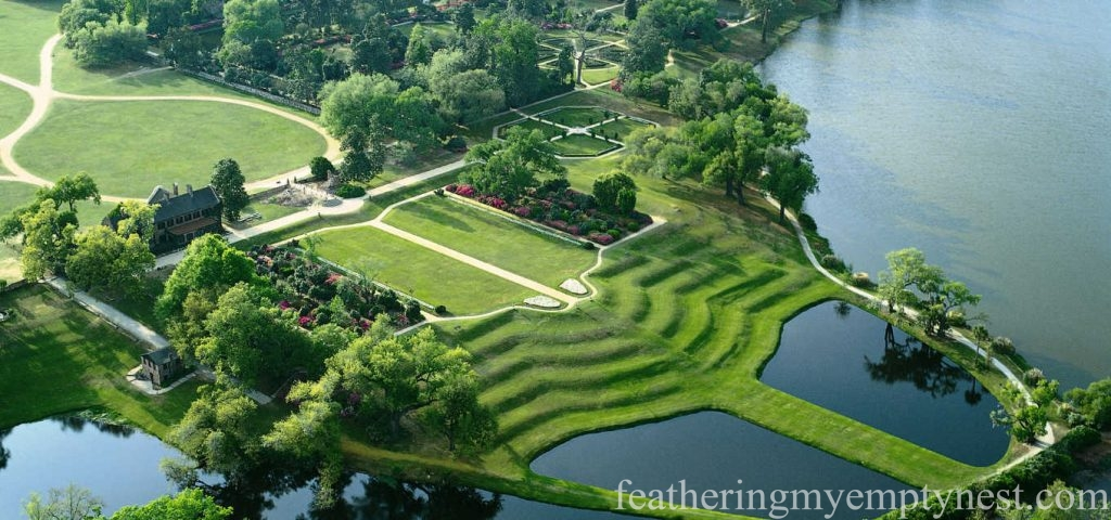 Aerial view --Exploring The Enchanting Gardens Of Middleton Place
