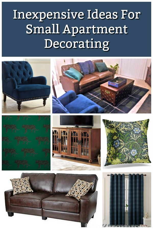 #inexpensive decorating ideas, #apartment decorating, #small apartment, #apartment furniture