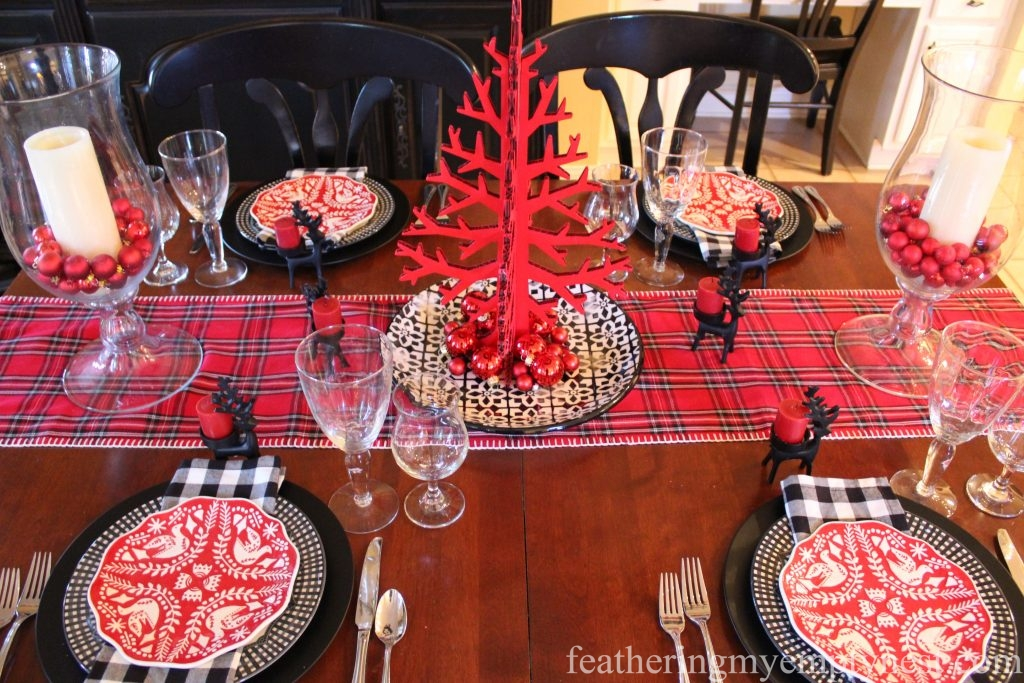 Fun and festive Casual Christmas Table