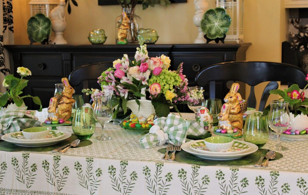 A Grown-up Easter Candy Tablescape--